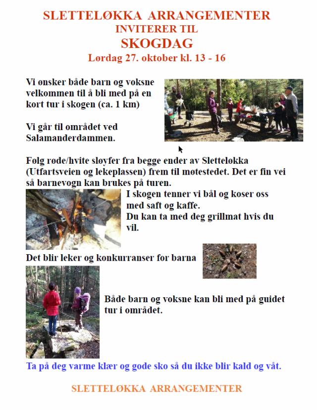 Skogtur 2018