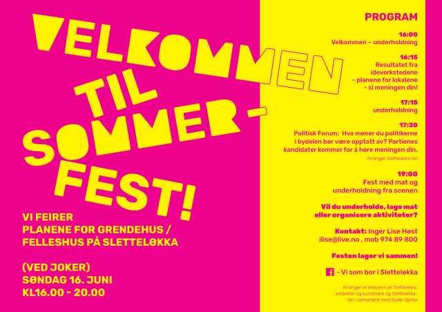 Sommerfest 16.juni